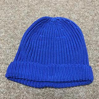 クルチアーニ(Cruciani)のクルチアーニ【ニット帽/ブルー】(ニット帽/ビーニー)