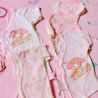 サンリオ(サンリオ)の新生児 肌着 セット(肌着/下着)