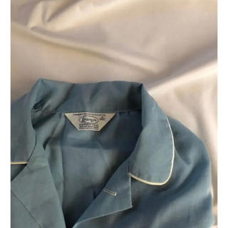 Lochie - usa vintage パイピング パジャマシャツ