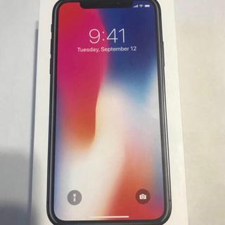 Apple - iPhone X 64G スペースグレイ SIMフリー対応有り