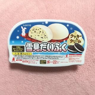 雪見だいふく スクイーズ  クッキー&クリーム