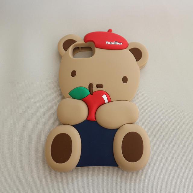 iphone7 ストラップ リング | familiar - iphoneケースの通販 by cibi's shop|ファミリアならラクマ