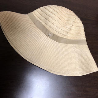 麦わら帽子 ベージュ(麦わら帽子/ストローハット)