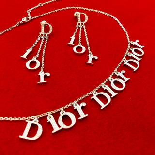 ディオール(Dior)のディオール ネックレス&ピアス(セット/コーデ)