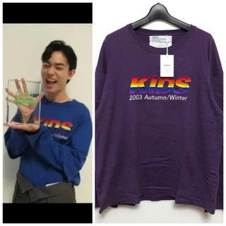 アンユーズド(UNUSED)の美品 DAIRIKU 18aw Layered S-shirt 菅田将暉着 (Tシャツ/カットソー(七分/長袖))