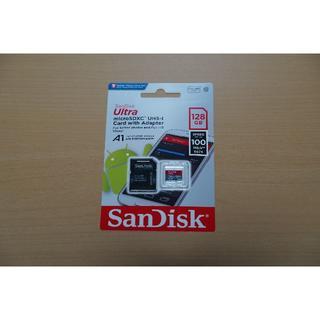 サンディスク(SanDisk)のSanDisk SDSQUAR-128G-GN6MA microSD 128GB(PC周辺機器)