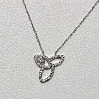 ハリーウィンストン(HARRY WINSTON)の cz diamond lily necklace(silver)(ネックレス)