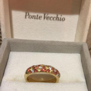 ポンテヴェキオ(PonteVecchio)のポンテヴェキオ  サファイア ダイヤ リング(リング(指輪))