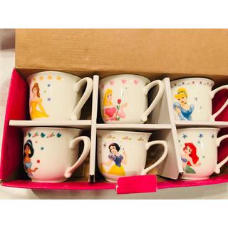 Disney - ディズニー プリンセス ティーカップセット