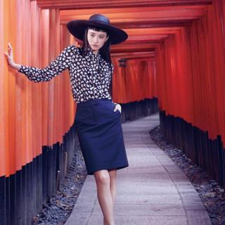 カールラガーフェルド(Karl Lagerfeld)のKARL LAGERFELD オリガミ ブラウス 40♡(カットソー(長袖/七分))