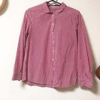 チャイルドウーマン(CHILD WOMAN)のchild woman 赤チェックシャツ(シャツ/ブラウス(長袖/七分))
