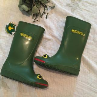 コドモビームス(こども ビームス)の新品 ウェリペッツ レインブーツ 長靴 8 15 15.5 カエル 蛙(長靴/レインシューズ)