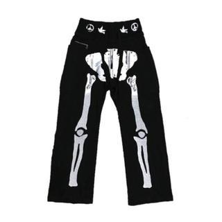 キャピタル(KAPITAL)の新品 KAPITAL KOUNTRY 骨 BONE 天竺 スウェット パンツ 1(その他)