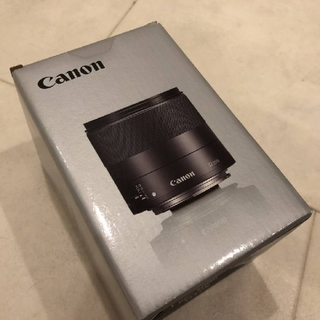 Canon - ☆新品 Canon EF-M 32mm F1.4 STM 1年間全損保証付き