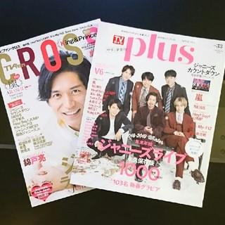 ジャニーズ(Johnny's)のTVfanCROSS TVガイドplus (アイドルグッズ)