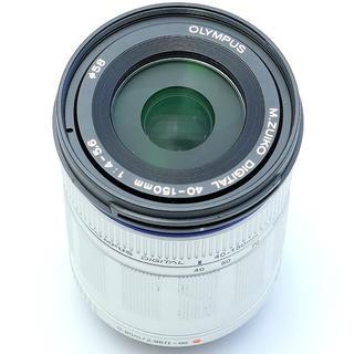 オリンパス(OLYMPUS)のオリンパスED40-150シルバー(レンズ(ズーム))