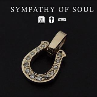 エスオーエスエフピー(S.O.S fp)のSympathy of Soul ホースシュー ダイヤモンド ペンダントトップ(ネックレス)