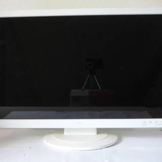 エヌイーシー(NEC)のNEC F23W1A ワイド フルHD液晶モニター美品 関東送料無料(ディスプレイ)