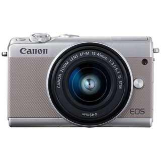 Canon - 未使用 canon EOS M100 15-45mmレンズセット グレー