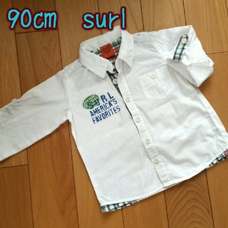 シュール(surl)の90㎝  surl シュール 長袖シャツ(Tシャツ/カットソー)