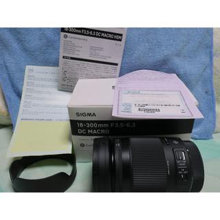 シグマ(SIGMA)のシグマ 18-300mm F3.5-6.3 DC MACRO キヤノン用(レンズ(ズーム))