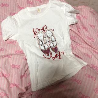 クリスチャンルブタン(Christian Louboutin)のルブタン風👠シャツ(Tシャツ(半袖/袖なし))