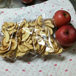 信州産リンゴチップス4袋