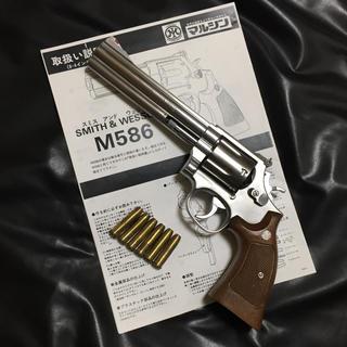 🔴マルシン S&W M686 ステンレスシルバー 未発火モデルガン(モデルガン)