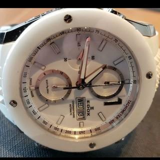エドックス(EDOX)のエドックスクラス1ホワイト(腕時計(アナログ))
