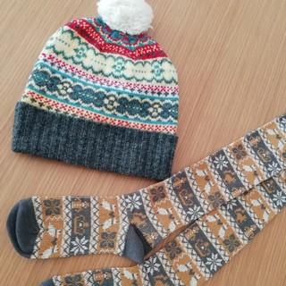 ジエンポリアム(THE EMPORIUM)の新品 ニット帽子 レディース ジエンポリアム THE EMPORIUM (ニット帽/ビーニー)