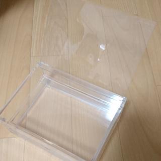 ムジルシリョウヒン(MUJI (無印良品))の無印 アクリルケース 収納(ケース/ボックス)