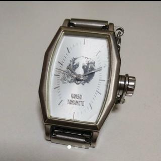 カンサイヤマモト(Kansai Yamamoto)の【山本寛斎 KANSAIYAMAMOTO 犬 時計】 腕時計(腕時計)