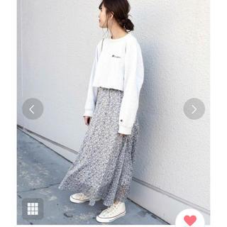 シップスフォーウィメン(SHIPS for women)の今期最新Khaju:フラワープリントロングスカート◆(ロングスカート)