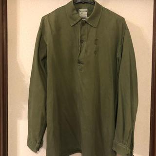 エンジニアードガーメンツ(Engineered Garments)のVintage Swedish Army スウェーデン軍 ミリタリーシャツ(シャツ)