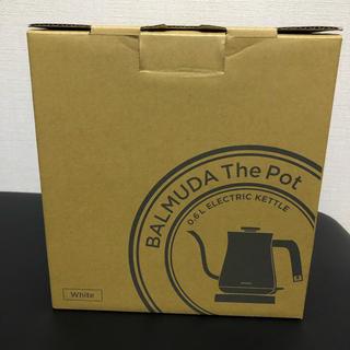 バルミューダ(BALMUDA)のレイチェルさま専用 BALMUDA The Pot(電気ケトル)