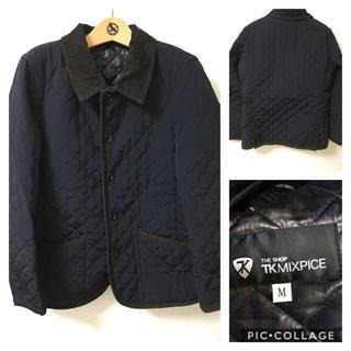 ティーケー(TK)のtk mixpice Mサイズ キルティングジャケット(ブルゾン)