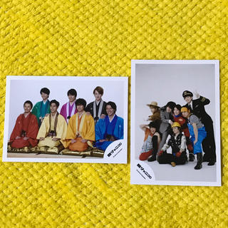 カンジャニエイト(関ジャニ∞)の関ジャニ∞公式写真2枚セット(アイドルグッズ)