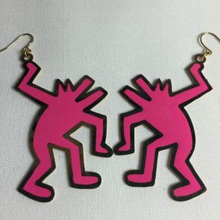 ノワール(NOIR)のコラボピアス Keith Haring(キースへリング)×NOIR(ノアール)(ピアス)