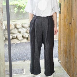 ケイスケカンダ(keisuke kanda)のkeisuke kanda 手縫いのスラックス(カジュアルパンツ)