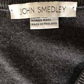 ジョンスメドレー(JOHN SMEDLEY)のジョンスメドレー JOHN SMEDLEY ニット ベスト 美品(ニット/セーター)