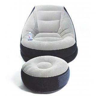 エアーソファ 一人掛け 1P 家具 インテリア オットマン 椅子 ボトルスタンド(一人掛けソファ)