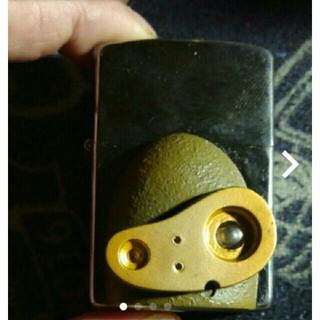 ジッポー(ZIPPO)のzippo内外新品未使用天空の城ラピュタロボット兵貼りチューニング済み!(タバコグッズ)
