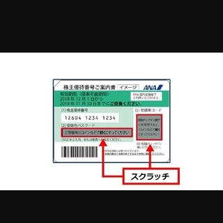 ANA 株主優待 10枚(航空券)