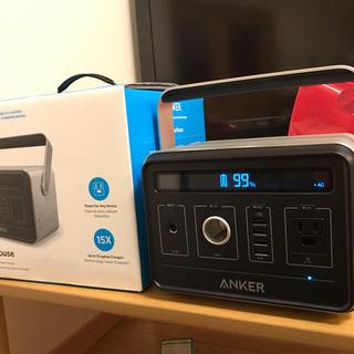 【新品同様、保証あり】Anker PowerHouse ポータブルバッテリー