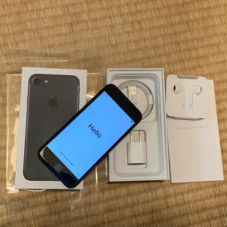 iPhone - 美品 iPhone7 256GB ブラック SIMフリー