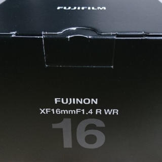 フジフイルム(富士フイルム)のFUJINON XF16mm F1.4 R WR(レンズ(単焦点))