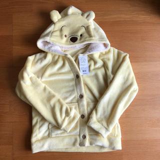 ディズニー(Disney)の新品タグ付きプーさんパーカー上着ルームウェア(ルームウェア)