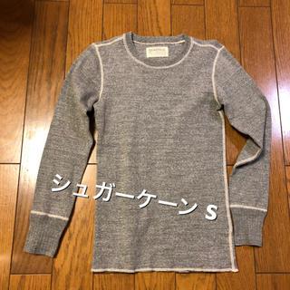 シュガーケーン(Sugar Cane)のSサイズ相当!日本製シュガーケーン  フィクションロマンス 長袖Tシャツ ロンT(Tシャツ/カットソー(七分/長袖))