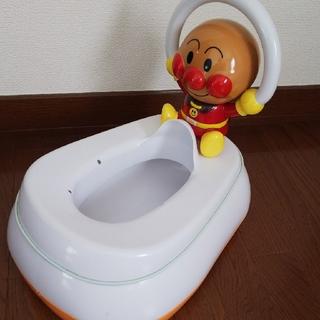 アンパンマン(アンパンマン)の専用 アンパンマン おまる 補助便座 トイレ 便座 子供トイレ(ベビーおまる)