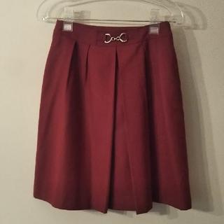 エニィスィス(anySiS)のanySiS スカート  サイズ2(ひざ丈スカート)